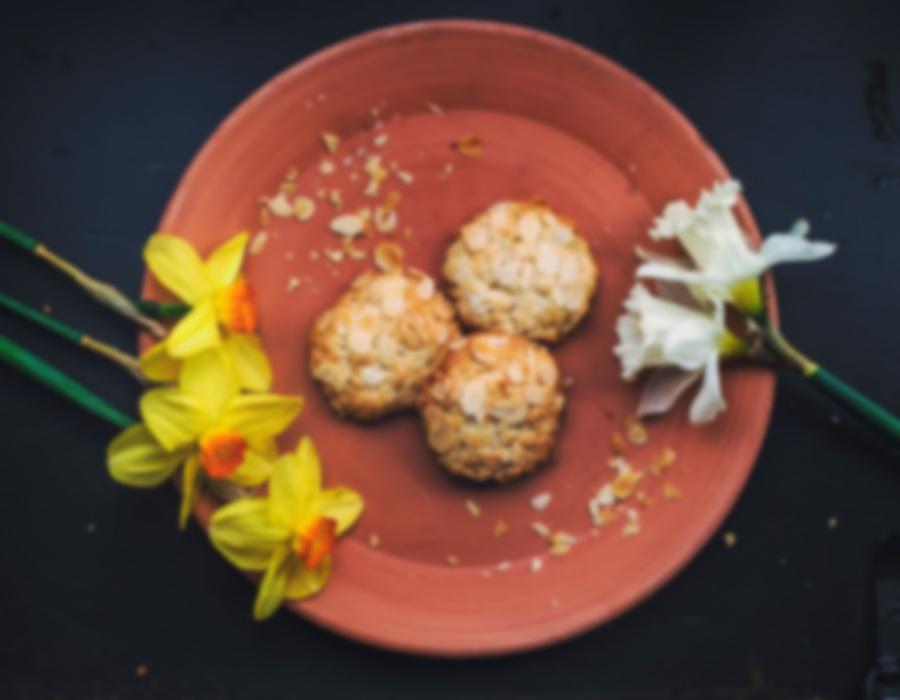 Almond Cookies Breakfast