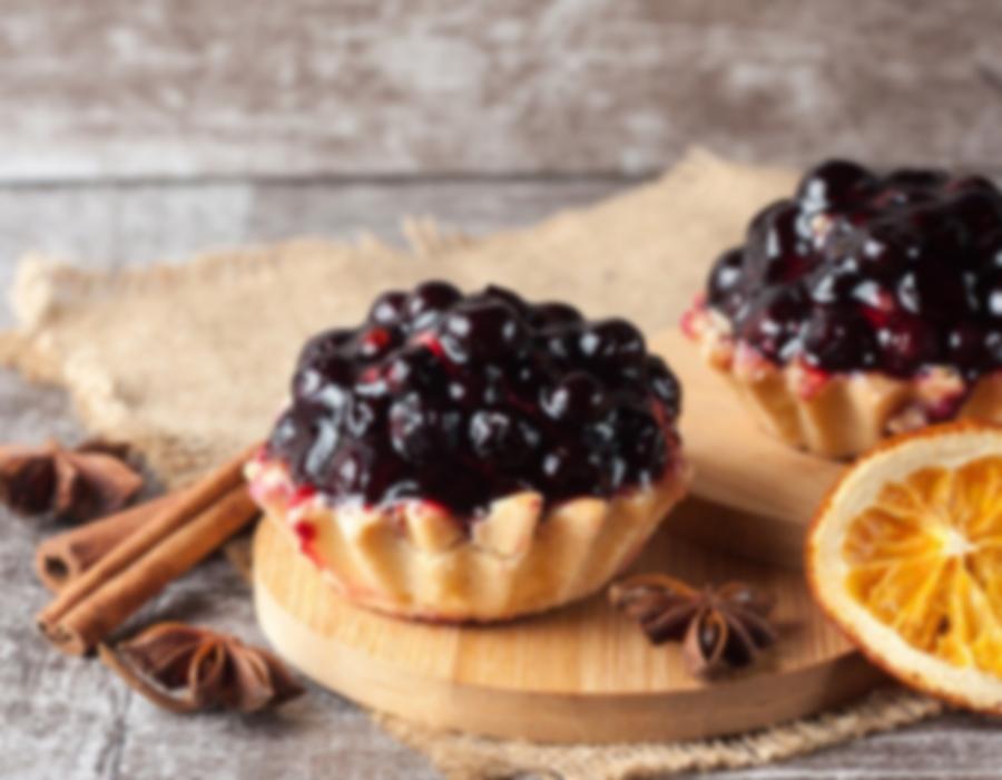 Blueberry Homemade Tart