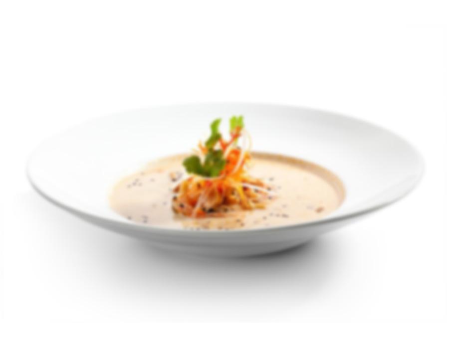Mussels with Saffron Cream Soup