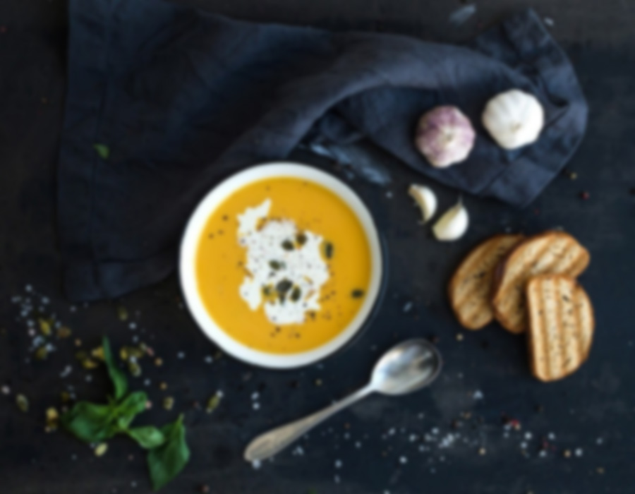 Glorious Roasted Pumpkin Soup